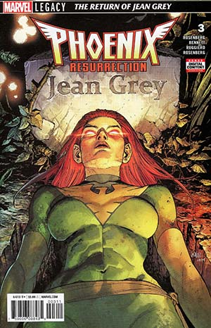 Phoenix Resurrection Return Of (Adult) Jean Grey #3 Cover A Regular Leinil Francis Yu Cover (Marvel Legacy Tie-In)