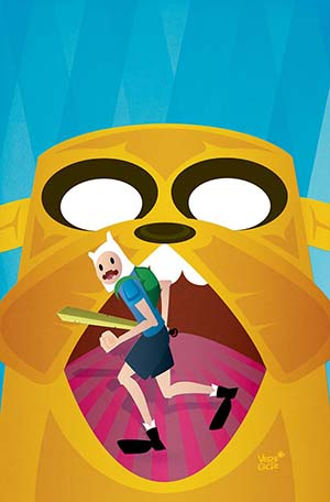 Adventure Time Comics #19 Cover B Variant Jeffrey Veregge Subscription Cover