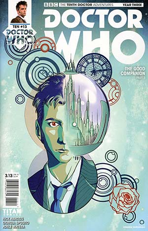 Doctor Who 10th Doctor Year Three #13 Cover A Regular Iolanda Zanfardino Cover