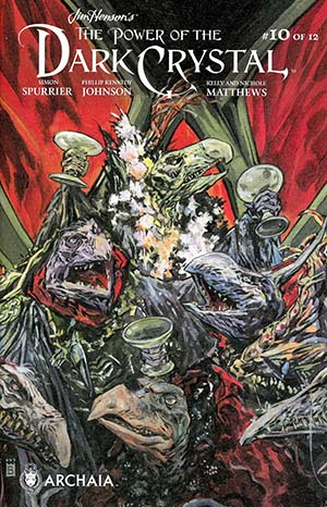 Jim Hensons Power Of The Dark Crystal #10 Cover A Regular Mark Buckingham Cover