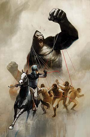 Kong On The Planet Of The Apes #3 Cover A Regular Mike Huddleston Cover