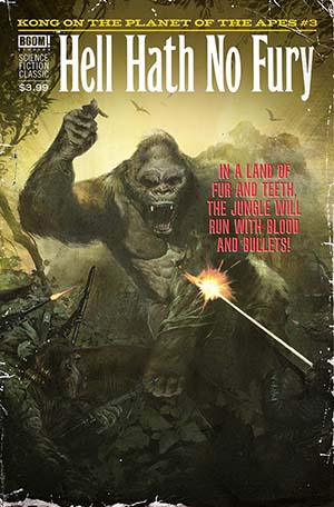 Kong On The Planet Of The Apes #3 Cover C Variant Fay Dalton Pulp Subscription Cover