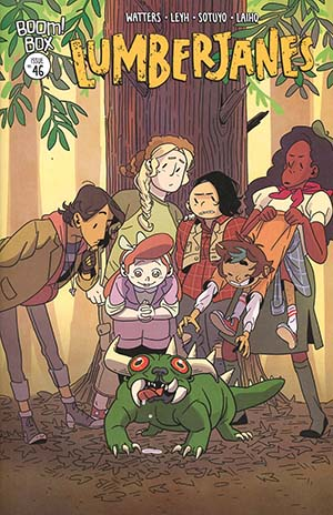 Lumberjanes #46 Cover A Regular Kat Leyh Cover