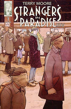 Strangers In Paradise XXV #1 Cover A Regular Terry Moore Cover