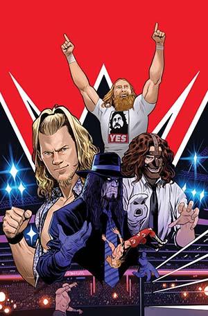 WWE #13 Cover A Regular Dan Mora Cover