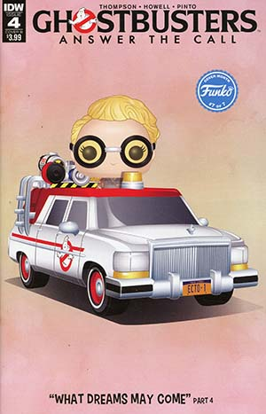 Ghostbusters Answer The Call #4 Cover B Variant Philip Branesky Funko Cover