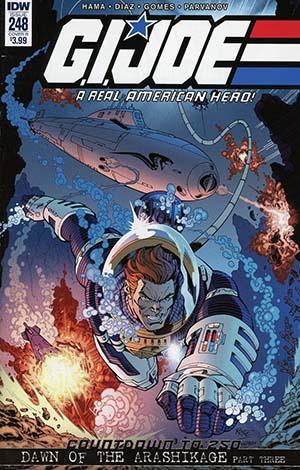 GI Joe A Real American Hero #248 Cover B Variant John Royle Cover