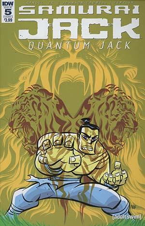 Samurai Jack Quantum Jack #5 Cover A Regular Michael Avon Oeming Cover