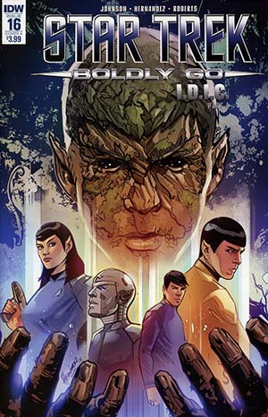 Star Trek Boldly Go #16 Cover A Regular Angel Hernandez Cover