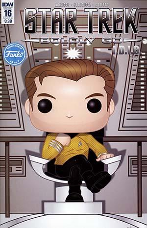 Star Trek Boldly Go #16 Cover B Variant Mike Martin Funko Cover