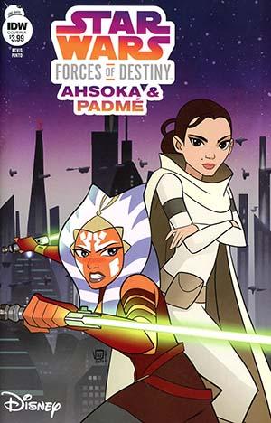 Star Wars Adventures Forces Of Destiny Ahsoka & Padme Cover A Regular Valentina Pinto Cover