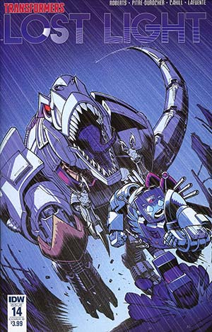 Transformers Lost Light #14 Cover B Variant Nick Roche Cover