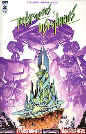 Transformers vs Visionaries #2 Cover A Regular Fico Ossio Cover