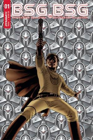 Battlestar Galactica vs Battlestar Galactica #1 Cover A Regular John Cassaday Cover