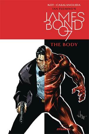 James Bond The Body #1 Cover A Regular Luca Casalanguida Cover
