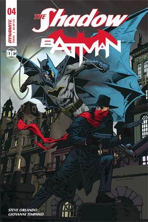 Shadow Batman #4 Cover A Regular Kevin Nowlan Cover