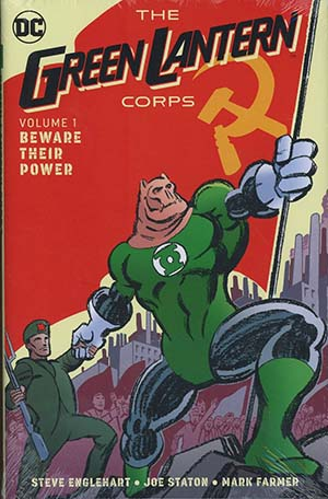 Green Lantern Corps Beware Their Power Vol 1 HC