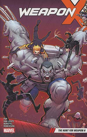 Weapon X (2017) Vol 2 Hunt For Weapon H TP