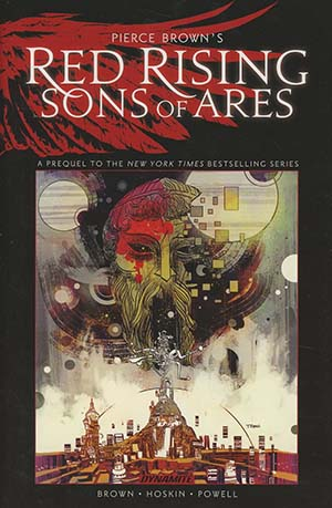Pierce Browns Red Rising Sons Of Ares HC Regular Edition