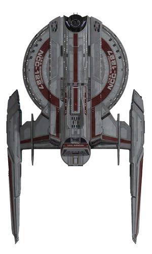 Star Trek Discovery Figurine Collection Magazine #1 USS Shenzhou NCC-1227
