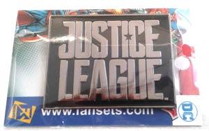 Justice League Movie Enamel Pin - Logo