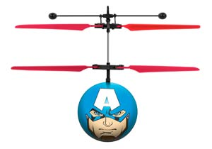 Marvel Comics Avengers Captain America IR UFO Ball Helicopter