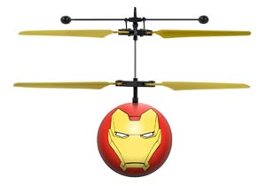 Marvel Comics Avengers Iron Man IR UFO Ball Helicopter