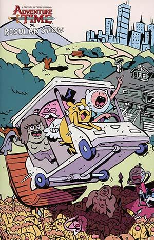 Adventure Time Regular Show #5 Cover D Incentive Diigii Daguna Mash-Up Homage Virgin Variant Cover