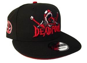 Deadpool Venomized Black 950 Snapback Cap