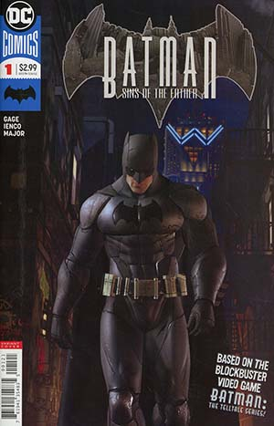 Batman Sins Of The Father #1 Cover B Variant Video Game Art Cover