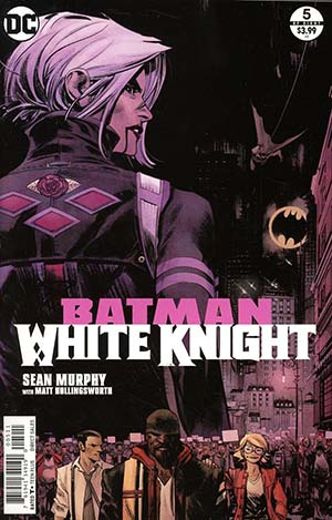 Batman White Knight #5 Cover A Regular Sean Murphy Cover