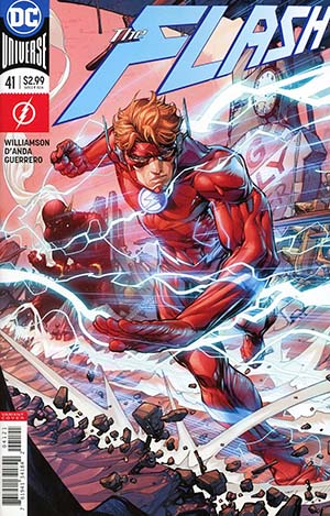 Flash Vol 5 #41 Cover B Variant Howard Porter Cover