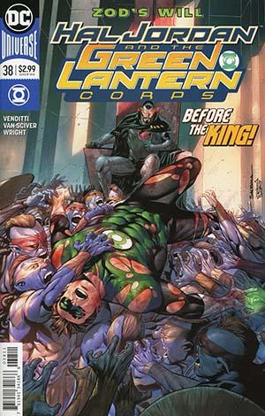 Hal Jordan And The Green Lantern Corps #38 Cover A Regular Rafa Sandoval & Jordi Tarragona Cover