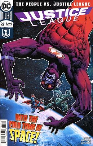 Justice League Vol 3 #38 Cover A Regular Paul Pelletier Cover