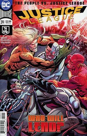 Justice League Vol 3 #39 Cover A Regular Paul Pelletier Cover