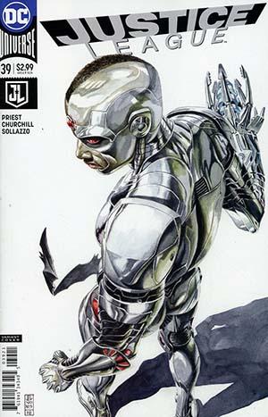 Justice League Vol 3 #39 Cover B Variant JG Jones Cover