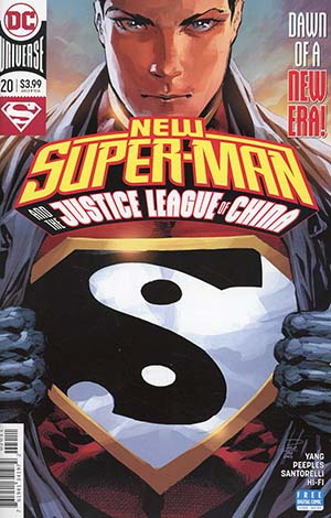 New Super-Man And The Justice League Of China #20 Cover A Regular Philip Tan Cover