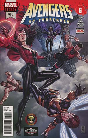Avengers Vol 6 #680 Cover A Regular Mark Brooks Cover (No Surrender Part 6)(Marvel Legacy Tie-In)
