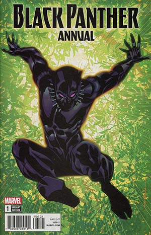 Black Panther Vol 6 Annual #1 Cover B Variant Brian Stelfreeze Cover (Marvel Legacy Tie-In)