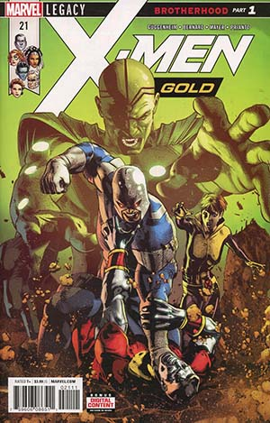 X-Men Gold #21 Cover A Regular Mike Deodato Jr Cover (Marvel Legacy Tie-In)