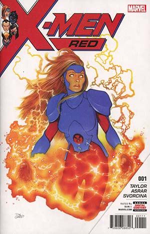 X-Men Red #1 Cover A 1st Ptg Regular Travis Charest Cover (Marvel Legacy Tie-In)(Limit 1 Per Customer)