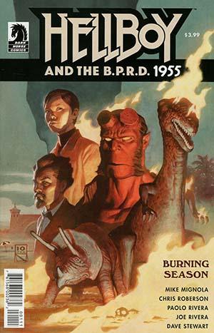 Hellboy And The BPRD 1955 Burning Season One Shot