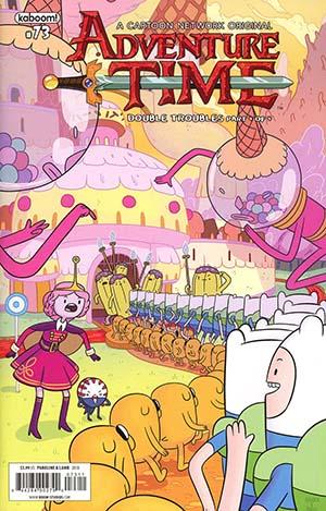 Adventure Time #73 Cover A Regular Shelli Paroline & Braden Lamb Cover