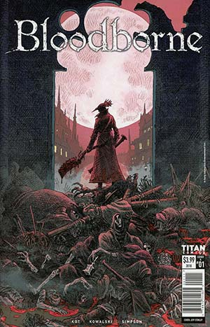 Bloodborne #1 Cover A Regular Jeff Stokely Cover