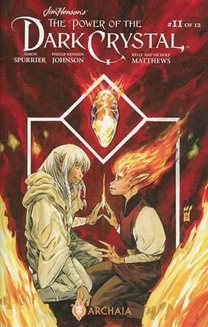 Jim Hensons Power Of The Dark Crystal #11 Cover A Regular Mark Buckingham Cover