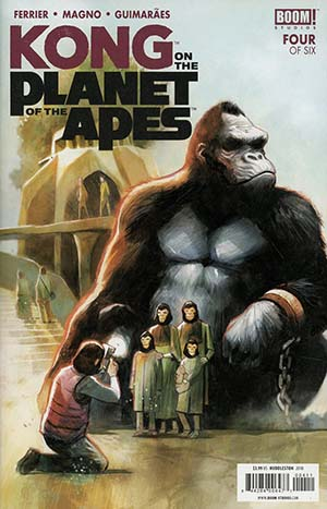Kong On The Planet Of The Apes #4 Cover A Regular Mike Huddleston Cover