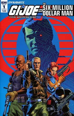 GI Joe A Real American Hero vs Six Million Dollar Man #1 Cover A Regular John Cassaday Cover