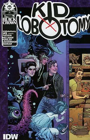 Kid Lobotomy #5 Cover A Regular Tess Fowler Cover