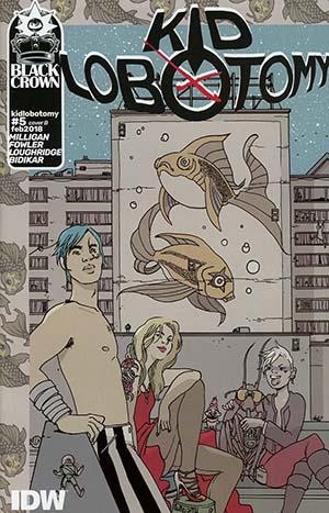 Kid Lobotomy #5 Cover B Variant Brandon Graham Cover