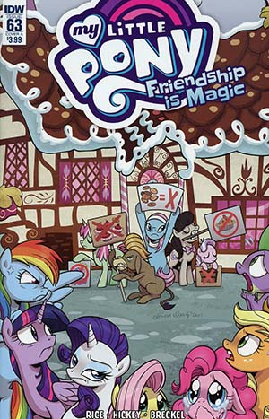 My Little Pony Friendship Is Magic #63 Cover A Regular Brenda Hickey Cover